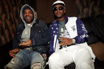 Jim Jones Announces Joint Project With Cam'ron