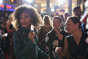 """Pose"" Actress Indya Moore Clashes With Trump Supporters In Manhattan"
