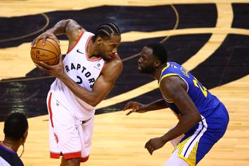 Kawhi Leonard Offers Well Wishes To Kevin Durant After Bad Injury