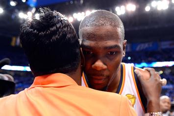Kevin Durant's Mom Explains How He's Feeling After Devastating Injury
