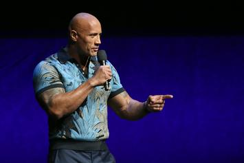 """The Rock """"Dad-Shamed"""" For Sharing Intimate Photo Of Daughter's Swim Lesson"""