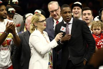 Raptors President Masai Ujiri Allegedly Shoved A Cop After Finals Win