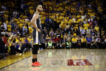 "Steph Curry Punched Wall Out Of ""Guilt"" After NBA Finals Loss"