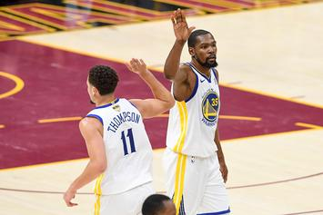 Warriors Will Reportedly Offer KD & Klay Thompson Max Contracts