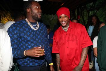 "Meek Mill, YG, & Others Pay Homage To Nipsey Hussle During ""BET Experience"""