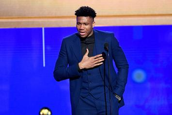 Giannis Antetokounmpo Snags MVP At NBA Awards, See Complete List Of Winners