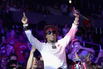 Lil Uzi Vert Celebrates Pride Month With Rainbow Flag Fit Pic
