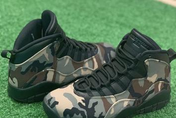 Air Jordan 10 Releasing In Two Camo Colorways: First Look