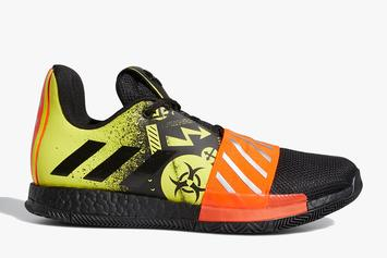 """James Harden's Adidas Harden Vol. 3 Launches In """"Toxic"""" Colorway"""