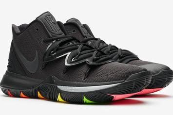 "Nike Kyrie 5 ""Black Rainbow"" Drops Next Week: Detailed Images"