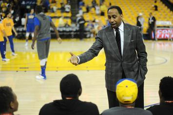 Stephen A. Smith Signs With Knicks In Hilarious NBA 2K Video: Watch