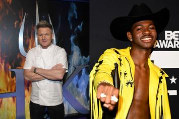 Gordon Ramsay Helps Lil Nas X Cook Up Some Mouth-Watering Paninis