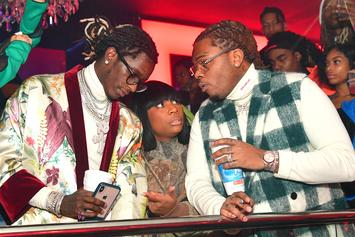 Young Thug Announces He's Running For President With Gunna