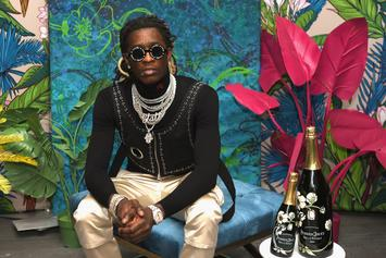 Young Thug Premiers His New SPIDER Fashion Brand In A Cool London Warehouse