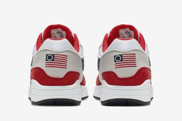 "Nike's ""Betsy Ross"" Air Max 1 Receives $15,000 Bid On eBay"