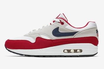 "Nike Stocks Soar After Air Max 1 ""Betsy Ross"" Controversy"