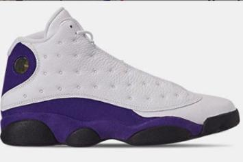 "Air Jordan 13 ""Lakers"" Drops Later This Month: Best Look Yet"