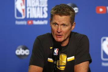 Nick Young Claims Steve Kerr Is The NBA's Best Blunt Roller