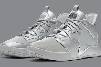NASA x Nike PG 3 Coming In Full Silver Reflective Colorway: Official Details