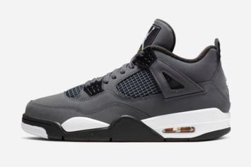 "Air Jordan 4 ""Cool Grey"" Drops Early On SNKRS, Fans Take Harsh Ls"