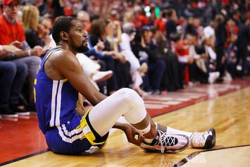 Kevin Durant Reveals His One-Legged Offseason Rehab Routine