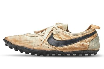 "Nike Waffle Racing ""Moon Shoe"" Goes For $437K At Auction"