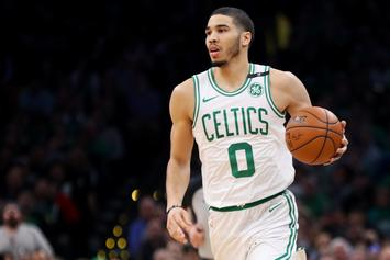 Jayson Tatum Reacts To His NBA 2K Rating With A Bold Prediction
