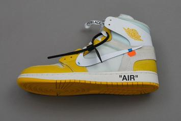 Off-White x Air Jordan 1 and Air Jordan 4 Samples Resurface: New Images