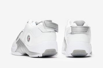 "Allen Iverson's Reebok Answer V Returns In ""White/Matte Silver"" Colorway"