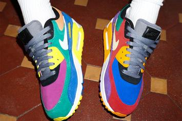 """Nike Air Max 90 """"Viotech"""" To Drop In OG Color Scheme: Release Details"""