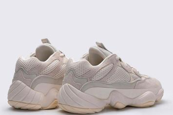 "Adidas Yeezy 500 ""Bone White"" Coming Soon: Detailed Images"