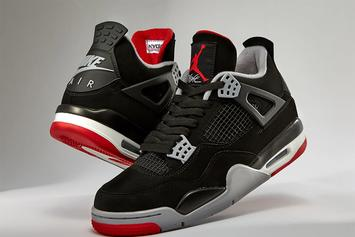 "Air Jordan 4 ""Bred"" Restock Announced For Today: Purchase Links"