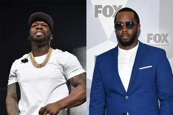 50 Cent Trolls Diddy's Son For Jay-Z-Esque Helmet Pic On A Surfboard