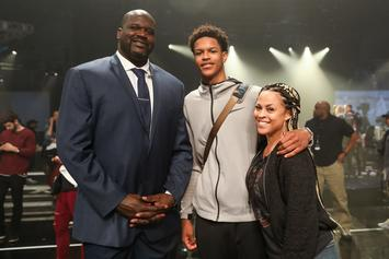Shareef O'Neal Gets Portrait Of Mom Shaunie O'Neal Inked After Receiving Shaq Tattoo