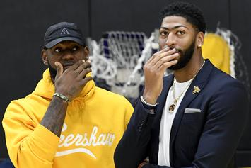 Anthony Davis Explains Why Nike Stopped LeBron James Jersey Swap