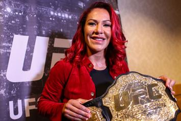"Cris Cyborg Posts Gruesome Post-UFC 240 Images, ""I Could See My Skull"""