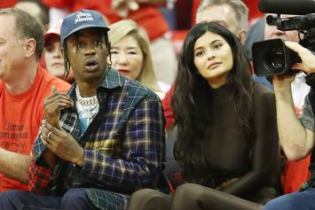 Travis Scott Surprises Kylie Kenner With A House Full Of Roses: Watch