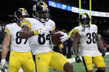 Antonio Brown Upset About His Helmet, Files Grievance With NFL: Report