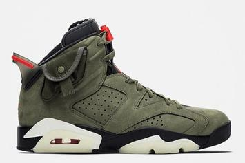 Travis Scott x Air Jordan 6 In-Hand Images Reveal Finer Details