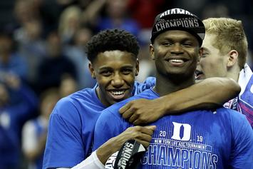 Zion Williamson Tells Knicks Fans What To Expect From RJ Barrett