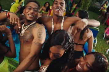 """King Combs, Yung Miami, Tee Grizzley,  AZChike Throw A Wild Party For """"Surf"""" Summer Single"""