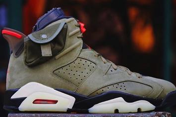 Travis Scott x Air Jordan 6 Video Delivers Best Look Yet: Watch