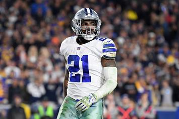 Jamie Foxx Reveals Inside Scoop On Ezekiel Elliott's Cowboys Holdout