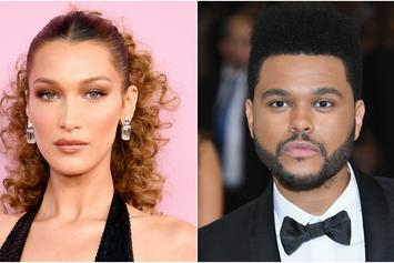 Bella Hadid Jets From Club After The Weeknd Shows Up