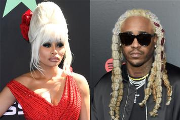 Blac Chyna & A1 Bentley (With His Crazy Hair) Complete Viral DMX Challenge