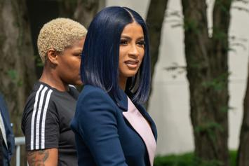 "Cardi B's Former ""Muscle"" Busted For Selling Crack: Report"