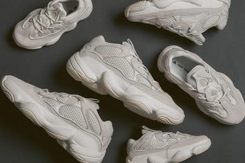 "Adidas Yeezy 500 ""Bone White"" Debuts This Weekend: Release Locations"