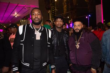 21 Savage & Meek Mill's Hilarious Foot Race Will Make Your Monday: Watch