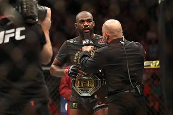 UFC's Jon Jones Sends Message To Daniel Cormier Following DC's Father's Death