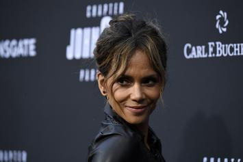 Halle Berry Drops Off Some Daily Inspiration With Poolside Bikini Post